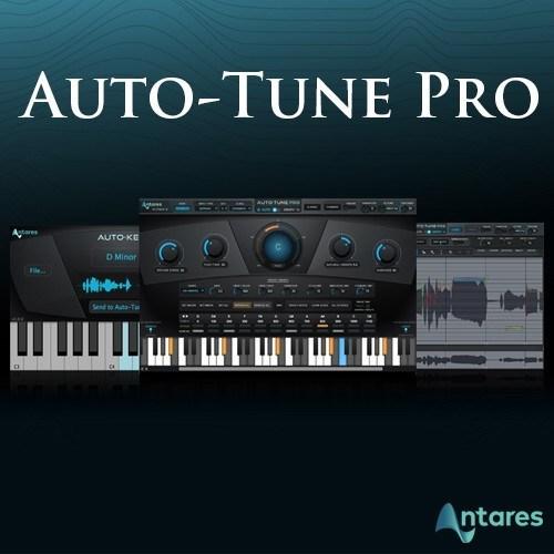 Antares AutoTune Pro 9.1.1 Crack Plus Serial Key Latest 2020