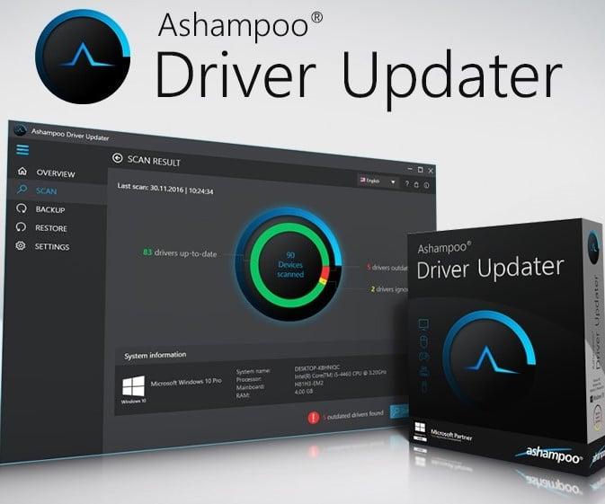 Ashampoo Driver Updater 1.5.0 Serial Key Full Crack Key 2021