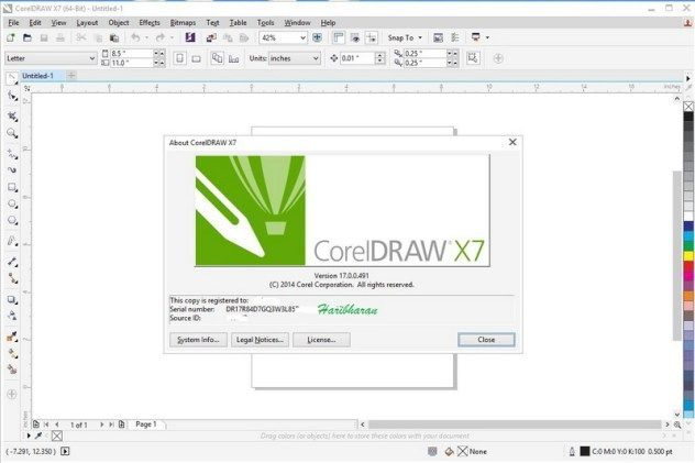 Corel Draw X7 Crack incl Keygen Free Download (2021) Full